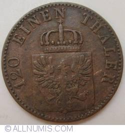 Image #2 of 3 Pfenninge 1864 A