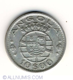 Image #1 of 10 Escudos 1955