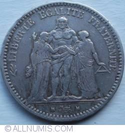 Imaginea #2 a 5 Franci 1848