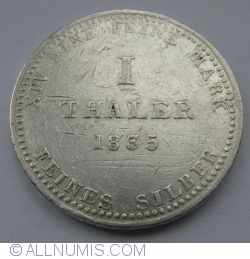 Image #1 of 1 Thaler 1835 A