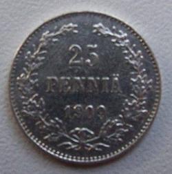 Image #1 of 25 Pennia 1909