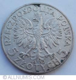 Imaginea #1 a 5 Zlote 1932 (without mintmark)