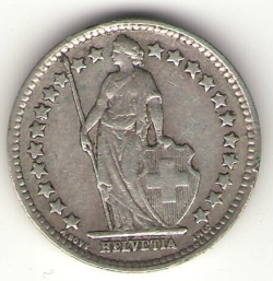 Image #2 of 1/2 Franc 1929