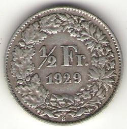 Image #1 of 1/2 Franc 1929