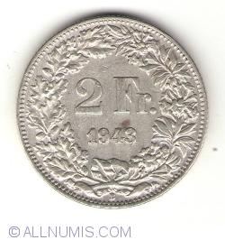 Imaginea #1 a 2 Franci 1943