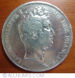 Image #2 of 5 Francs 1830 A