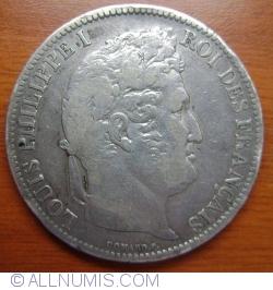 Image #2 of 5 Francs 1831 H