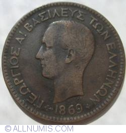 Imaginea #2 a 10 Lepta 1869