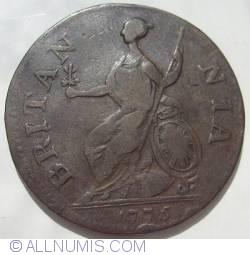 Halfpenny 1775