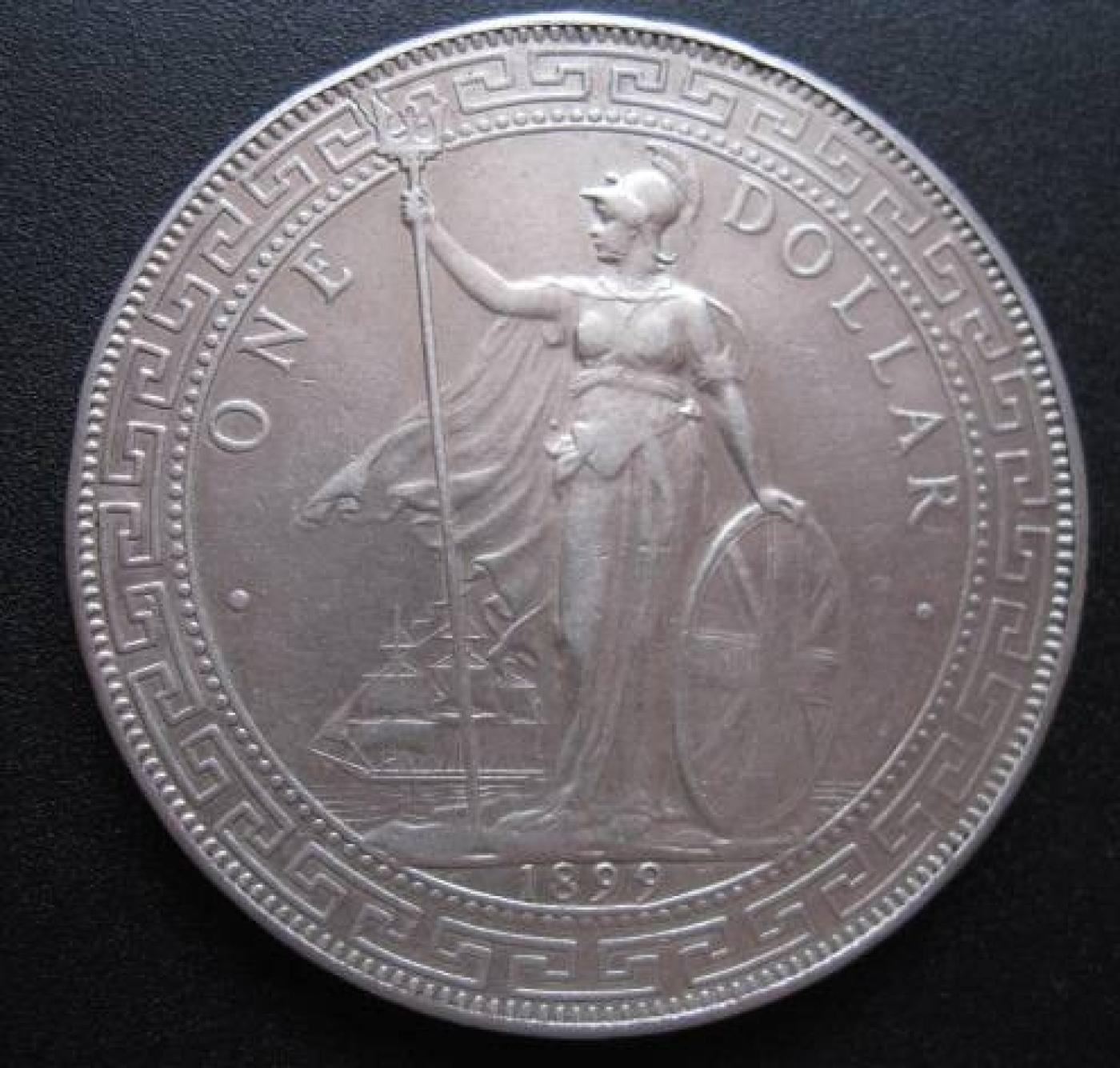 1 Dollar 1899 Britannia Trade Dollar 1895 1935 Great