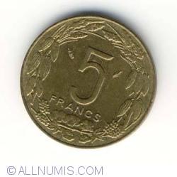 Image #1 of 5 Francs 1992