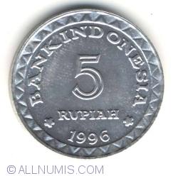 Image #1 of 5 Rupiah 1996