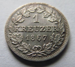 Image #1 of 1 Kreuzer 1867