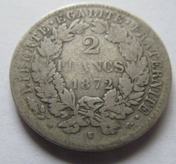 Image #1 of 2 Francs 1872 K