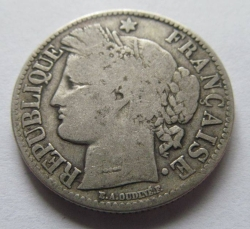 Image #2 of 2 Francs 1872 K