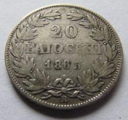 Image #1 of 20 Baiocchi 1865 (XIX)