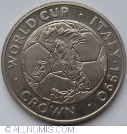 Imaginea #1 a 1 Crown 1990 - World Cup Italy