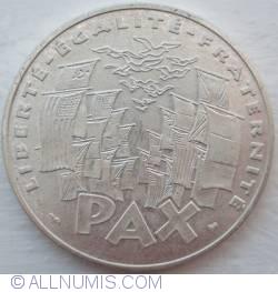 Image #2 of 100 Francs 1995 - 8 mai 1945