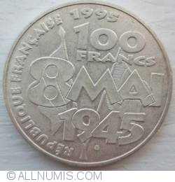 Image #1 of 100 Francs 1995 - 8 mai 1945