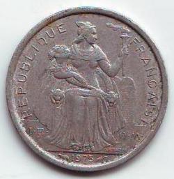 Imaginea #2 a 1 Franc 1975