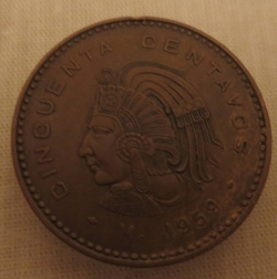Image #1 of 50 Centavos 1959