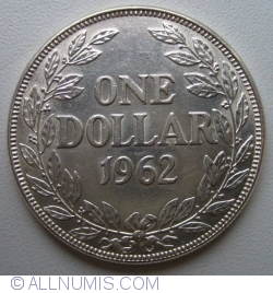 Image #1 of 1 Dollar 1962