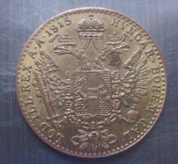 Image #1 of [COUNTERFEIT] 1 Ducat 1915 - Not gold