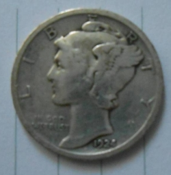 Image #2 of Dime 1924
