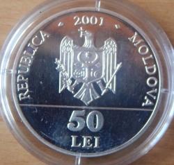 Image #1 of 50 Lei 2001 - Vasile Alecsandri (1821-1890)