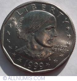 Image #2 of Anthony Dollar 1999 P