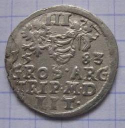 Imaginea #2 a 3 Groschen 1583