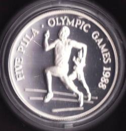 Image #1 of 5 Pula 1988 - Olympics