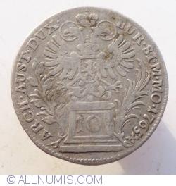 Image #1 of 10 Kreuzer 1765