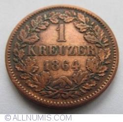 Image #1 of 1 Kreuzer 1864