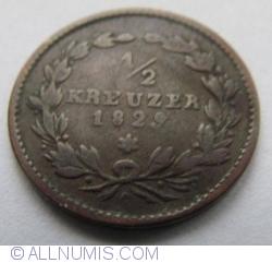 Image #1 of 1/2 Kreuzer 1829