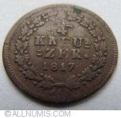 Image #1 of 1/4 Kreuzer 1817