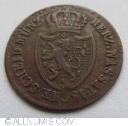 Image #2 of 1/4 Kreuzer 1817