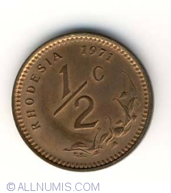 Image #1 of 1/2 Cent 1971