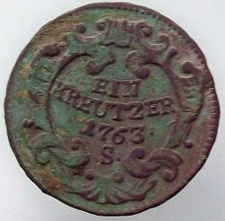 Image #1 of 1 Kreutzer 1763 S