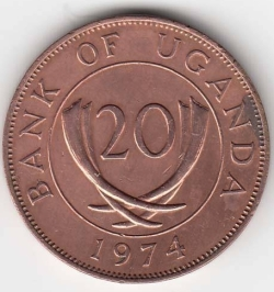 Image #1 of 20 Cents 1974