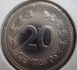 Imaginea #1 a 20 Centavos 1980