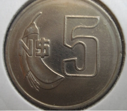 Image #1 of 5 Nuevos Pesos 1980