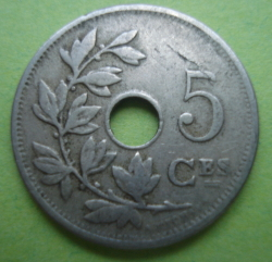 Image #1 of 5 Centimes 1910 (Belgique)