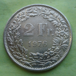 Image #1 of 2 Francs 1976