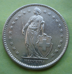 Image #2 of 2 Francs 1976
