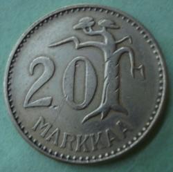 Image #1 of 20 Markkaa 1955