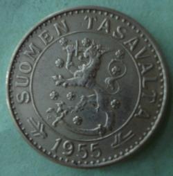 Image #2 of 20 Markkaa 1955