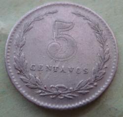 Image #1 of 5 Centavos 1940