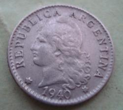 Image #2 of 5 Centavos 1940
