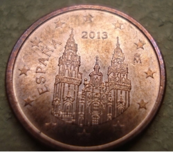 Image #2 of 1 Euro Cent 2013